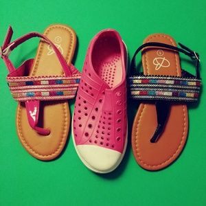 Trio new girls shoes size 1